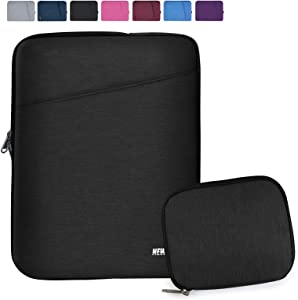 """NEWHEY Laptop Sleeve 15.6 Inch Computer Bag Multi-Color Choices Case, Water-Resistant Notebook Pocket Tablet Briefcase,Compatible with 15.4-Inch MacBook Pro 2012 A1286,and Most 15.6"""" Laptop,Black"""
