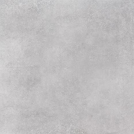 Bodenfliese Penthouse grau matt im Großformat 80x80cm aus ...