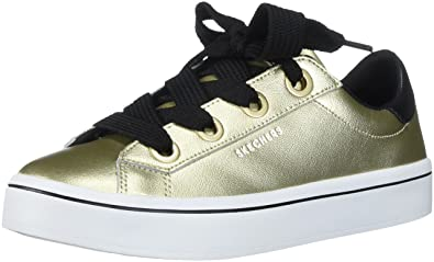 7e9d2cf5159d Skecher Street Women s Hi Lite-Metallic Leather Fashion Sneaker