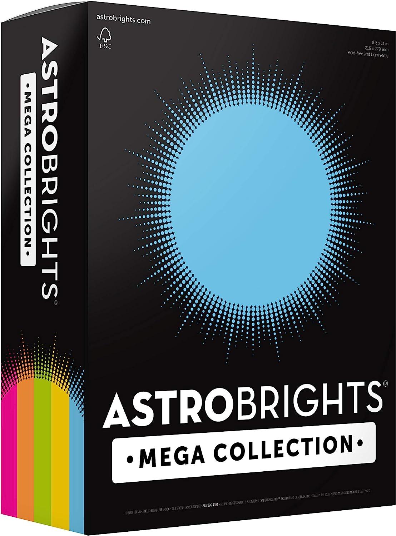 Astrobright Mega Collection paper box.
