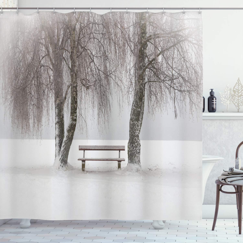 Brown /& Gold Swirls /& Trees Curtain Cushion Fabric Material