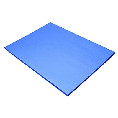 "Riverside 3D Construction Paper, Blue, 18"" x 24"", 50 Sheets : Office Products"