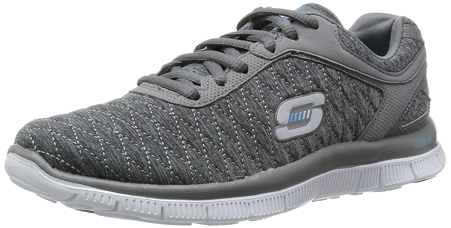 Skechersflex Appeal Eye Catcher - Zapatillas de Running Mujer 35.5 EU|Gray