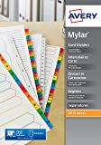 Avery Intercalaire Mylar avec 12 Onglets Mensuels - A4+ (L7411-12)