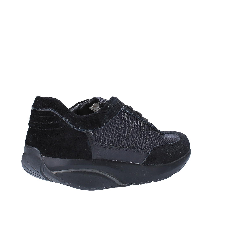 MBT Sneakers Mens 8-8, 5 US / 42 EU Black Textile Suede: Amazon.ca: Shoes &  Handbags