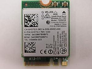 Dell M.2 K57GX Bluetooth WLAN 802.11ac Wireless Card 7265NGW