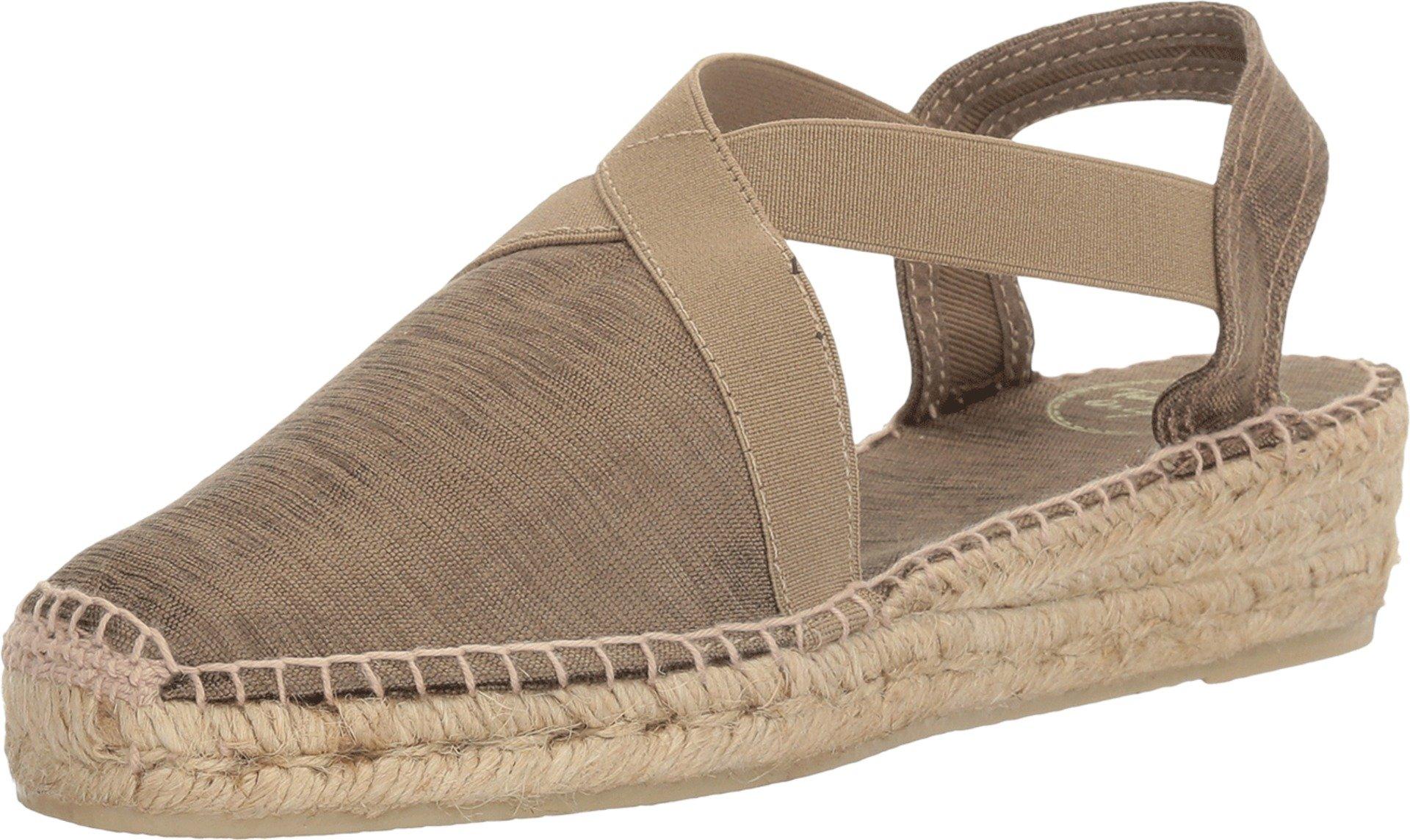 Toni Pons Women's Vic Taupe Sedavi Shoe by Toni Pons