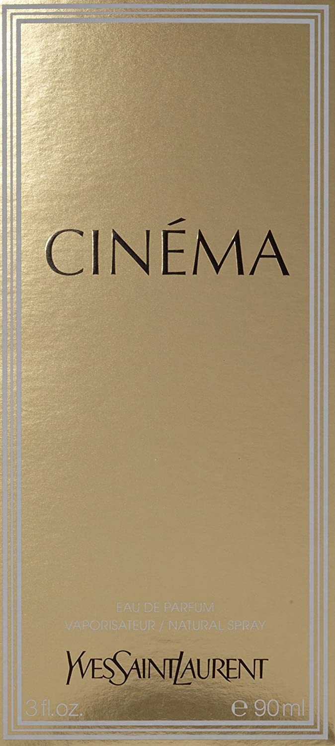 Cinema By Yves Saint Laurent For Women Eau De Parfum Spray, 90 ml, 3 Ounces