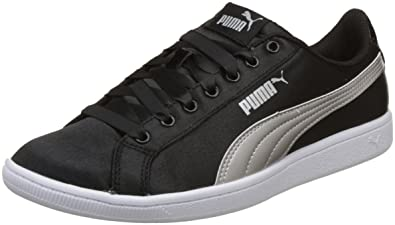 Puma Women s Black Silver Sneakers-5 UK India (38 EU) (36645602 ... b823efc54c