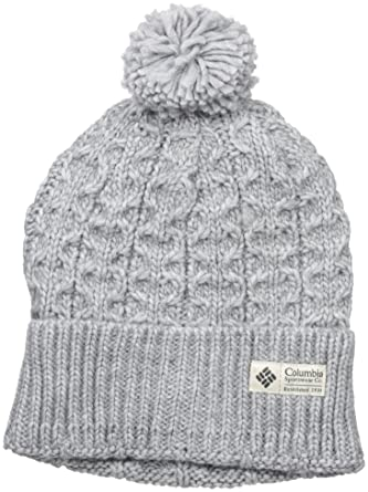 778537623de2c7 Columbia Hideaway Haven Beanie, Charcoal Heather, One Size at Amazon  Women's Clothing store: