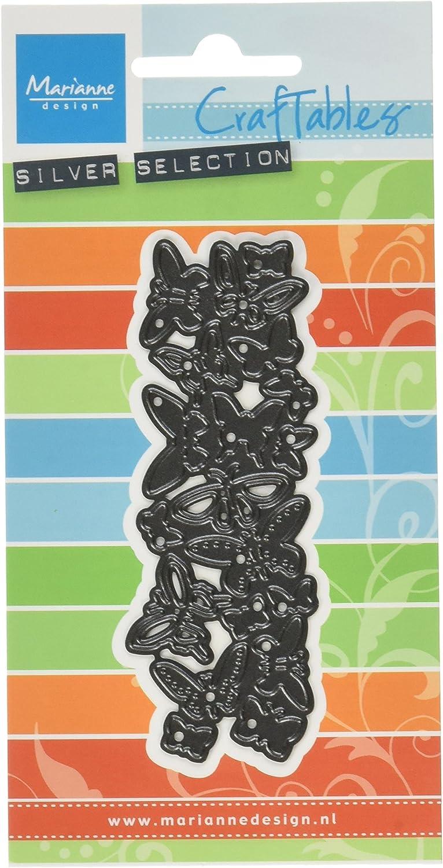 Marianne Design Stanz und Prägeschablone Craftable Schmetterlinge