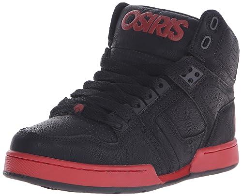 Osiris NYC 83 - Zapatillas de Patinaje para niño, Negro (Negro/Rojo), 16 EU M Niño Pequeño: Amazon.es: Zapatos y complementos