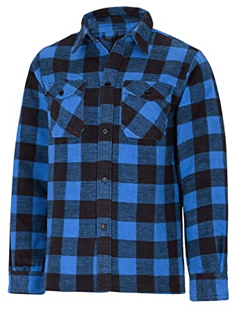 Mens Red Lumberjack Shirt Black Ripped Jeanscopy