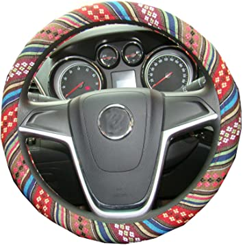 "NEW Blue Mopar Speed Grip Steering Wheel Cover 14.5-15.5/"""