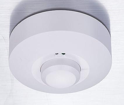 ZEYUN Detector de movimiento de microondas, sensor de movimiento, interruptor de luz de sensor