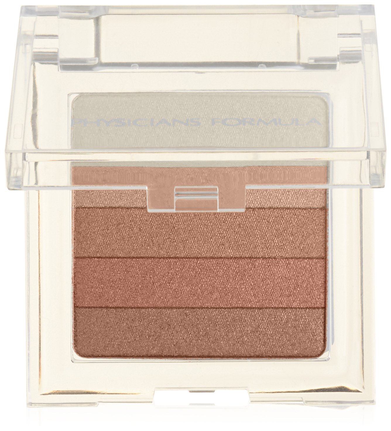 Physicians Formula Shimmer Strips, Malibu Strip/Pink Sand Bronzer, 0.3 Ounce