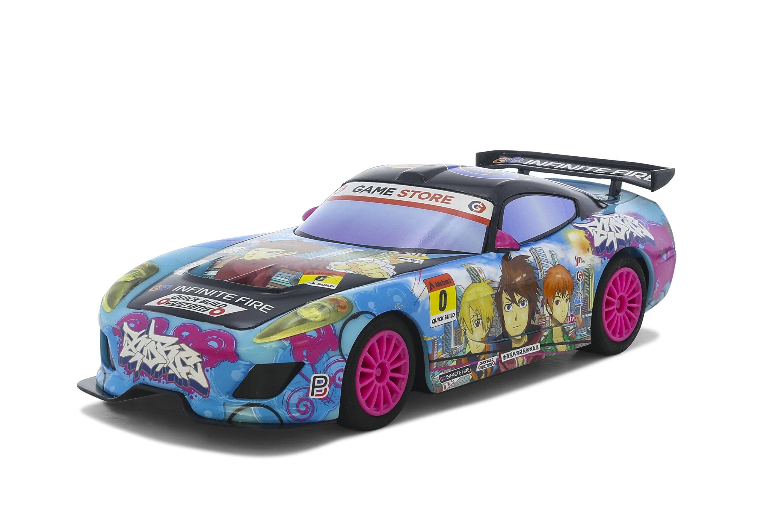 Scalextric Lightning Team Gt Anime Sunrise 1:32 Slot Car C3838 Vehicle Replica