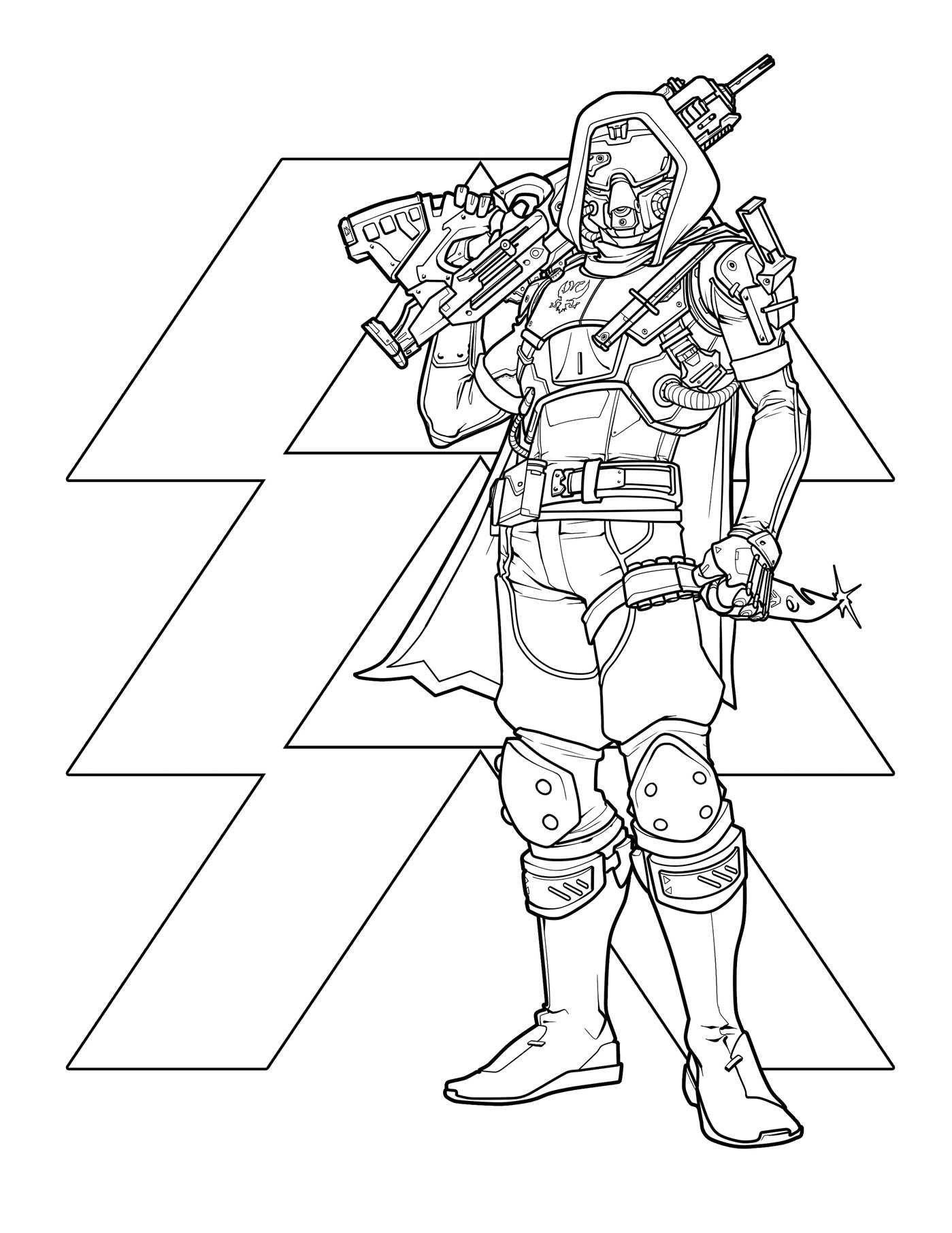 Amazon.com: Destiny: The Official Coloring Book (12 ...