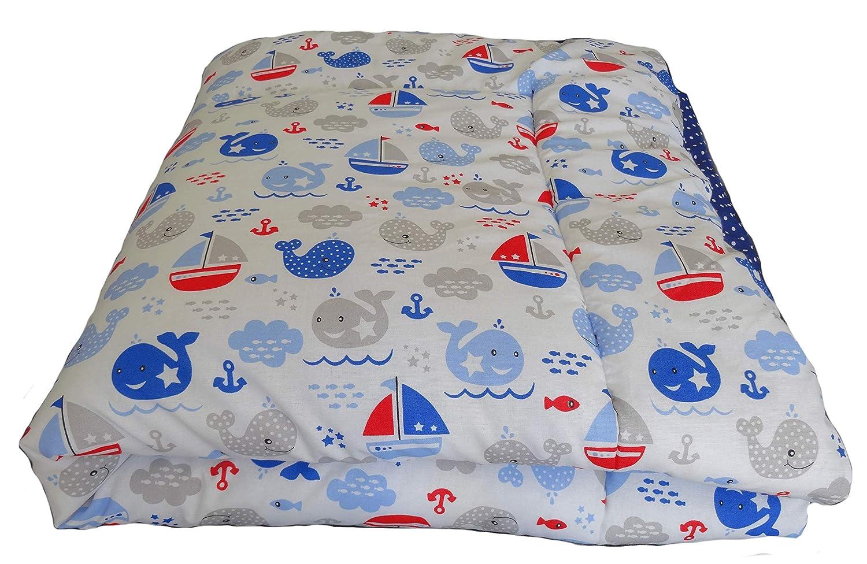 Krabbeldecke Spieldecke Spielmatte Kinderwagendecke Babydecke Baumwolle 100cm