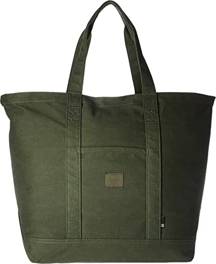e465ff744e80 Herschel Supply Co. Bamfield Mid-Volume Tote Green Size  One size  Amazon.co .uk  Shoes   Bags