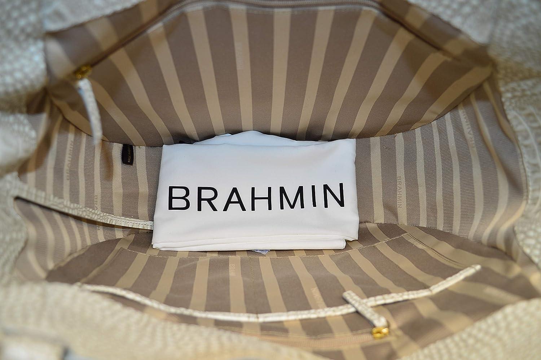 39b9e633d Brahmin Marianna Mineral Moulay Hand Woven Leather Bag: Handbags: Amazon.com