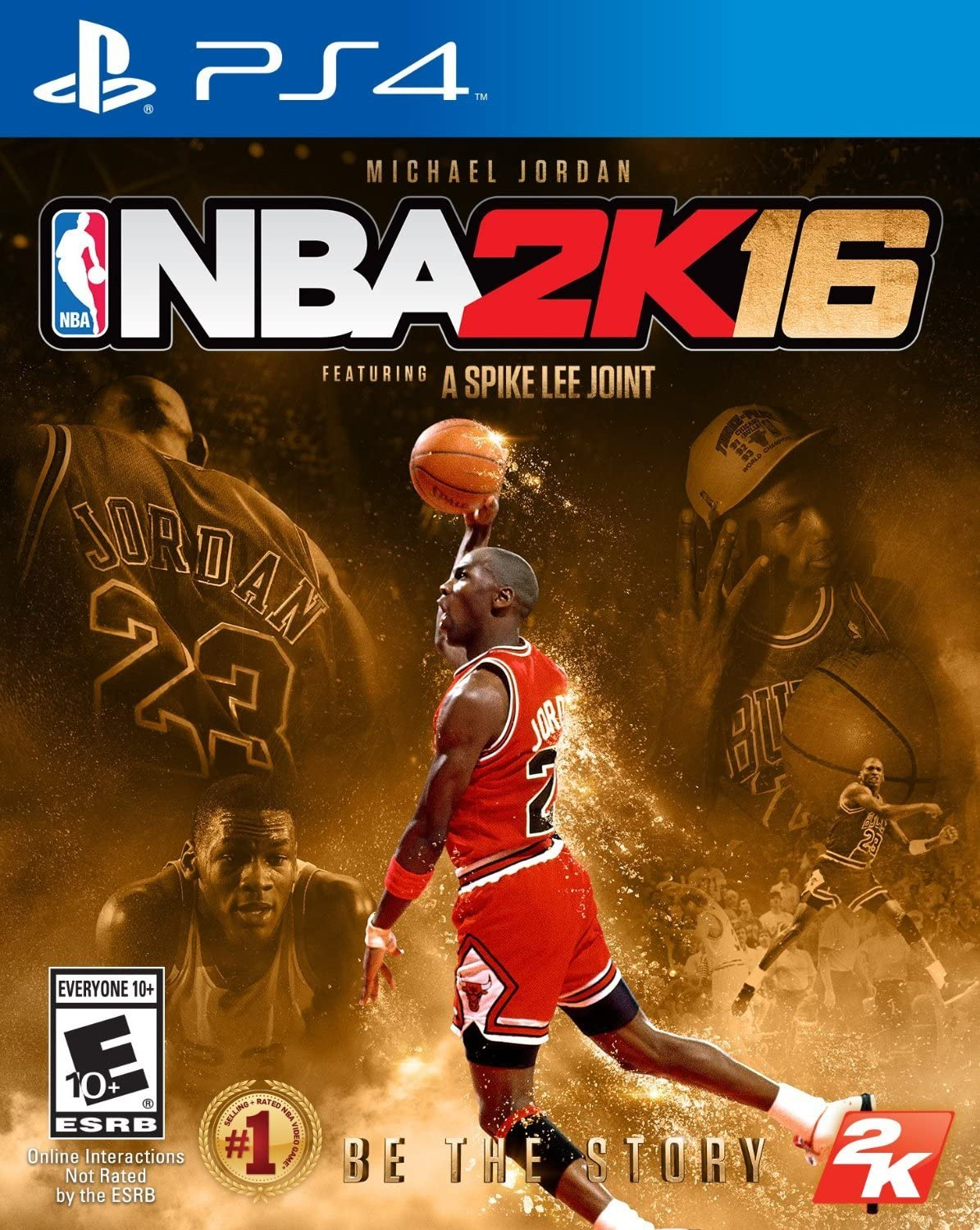 1497b9f77037 Amazon.com  NBA 2K16 - Michael Jordan Special Edition - PlayStation 4   Video Games