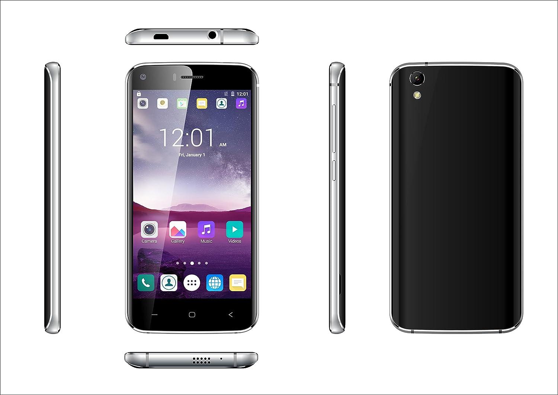 Smartphone INFINITON T5 (Negro), Quad-Core 1.3GHz, Pantalla 5.0 ...