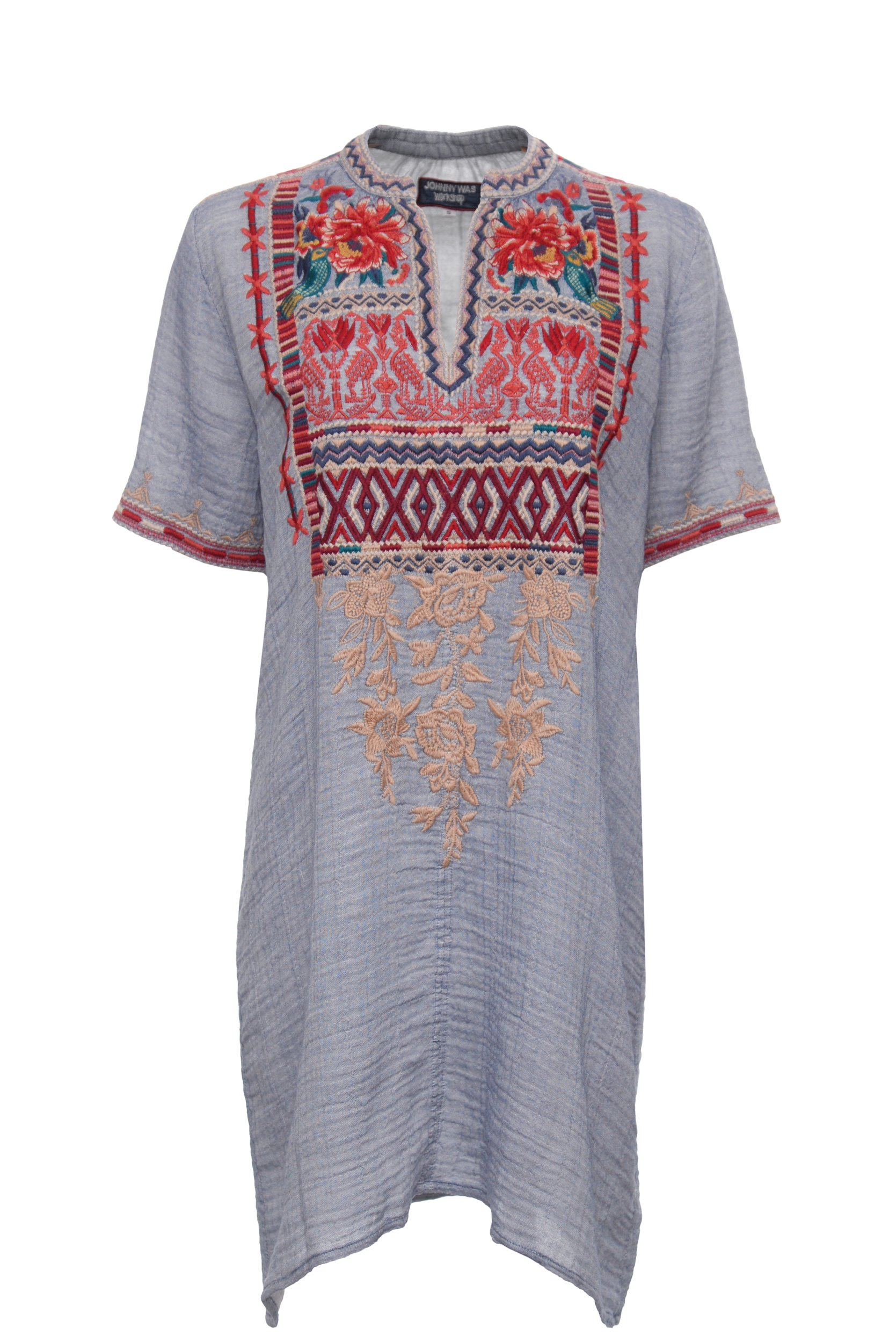 Johnny Was 3J Workshop by Veronica Easy Tunic Dress (Large)