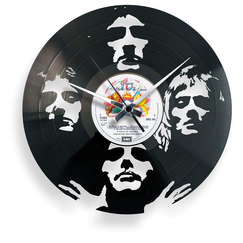 DiscOClock - Reloj de Pared de Vinilo LP 33 RPM silencioso ...