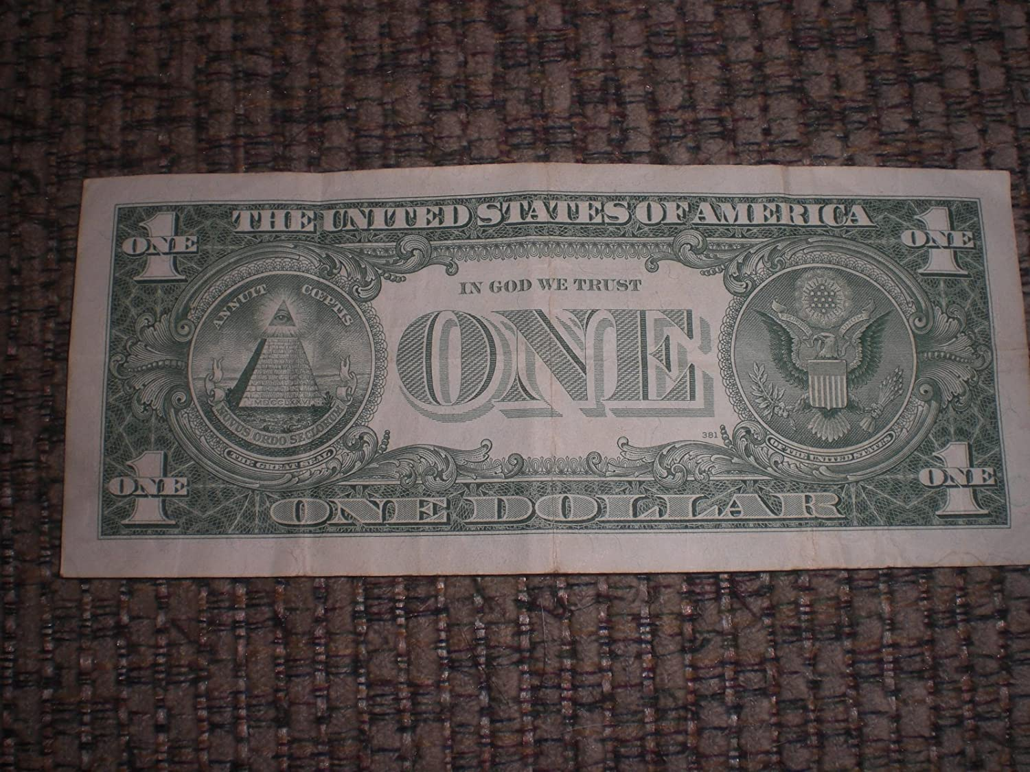 Amazon 1 Dollar Silver Certificate Series 1957 B Everything Else