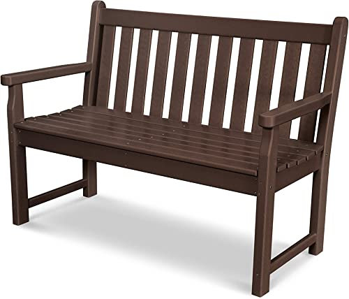 POLYWOOD TGB48MA Traditional Garden 48 Bench