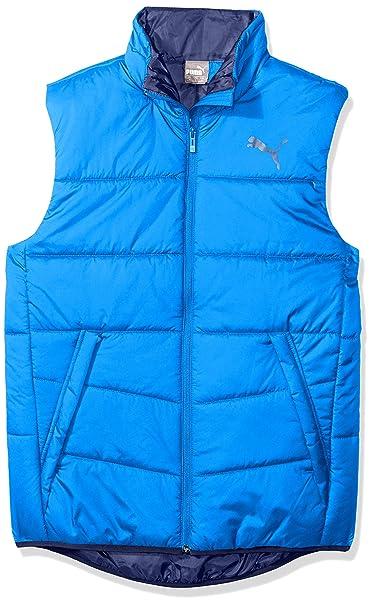 cliente primero elige el más nuevo muchas opciones de Puma 851601 37 Chaleco para Hombre, Strong Blue, Grande ...