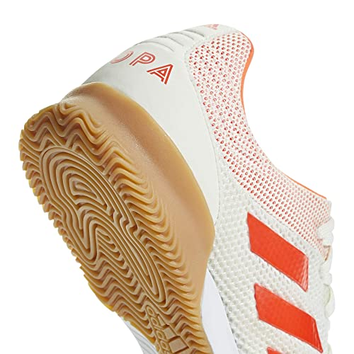 Amazon.com: adidas Copa 19.3 Indoor SALA, White/Solar red/Gum, 12 M US: Shoes