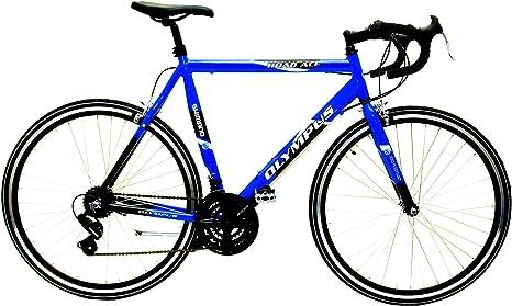 OLYMPUS EM122JB - Bicicleta de Carretera para Hombre, Color Rojo ...