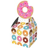 Creative Converting Donut Party Favor Boxes Party Supplies, Multicolor