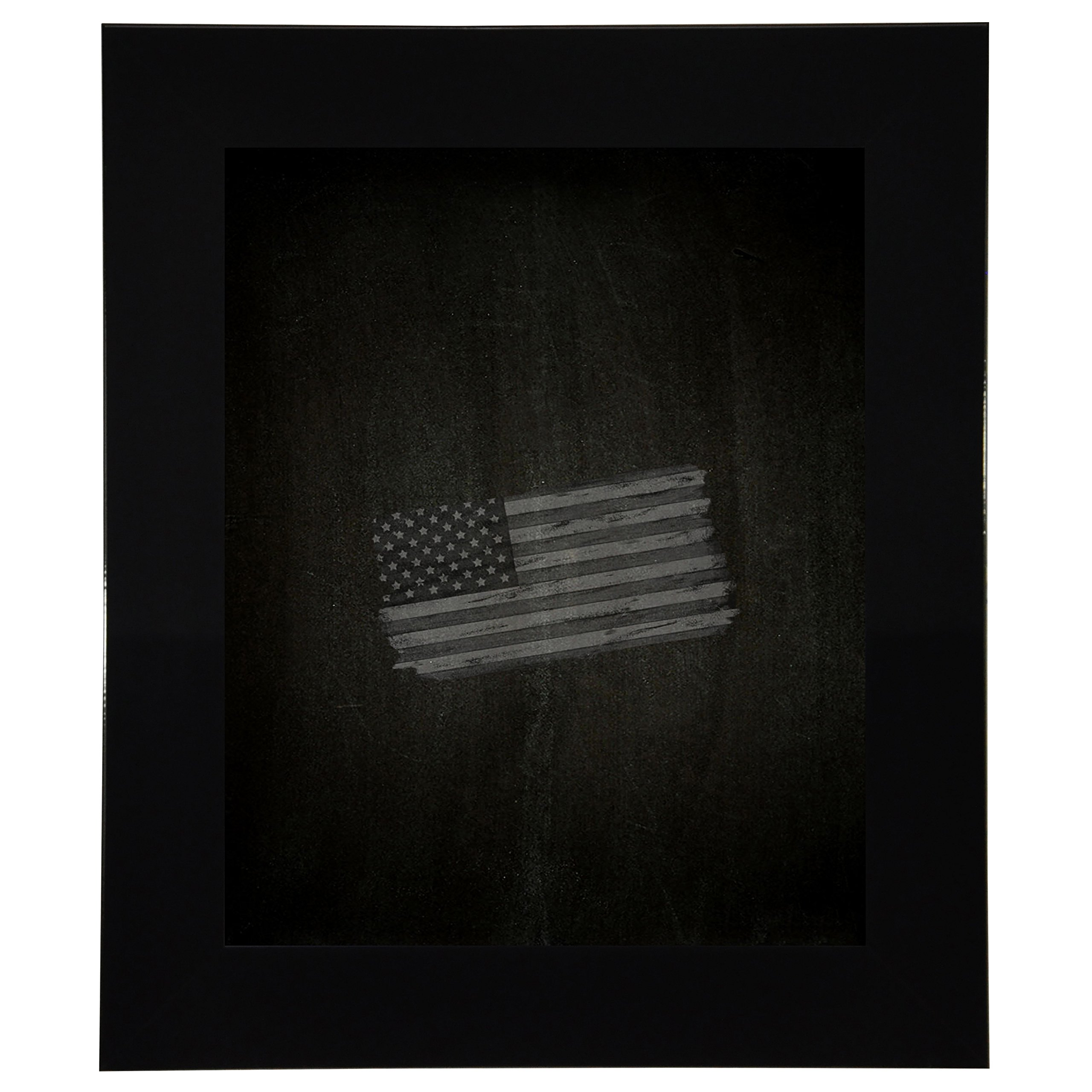 Rayne Mirrors American Made Rayne Delta Black Blackboard/ Chalkboard Exterior Size: 24 x 42 by Rayne Mirrors
