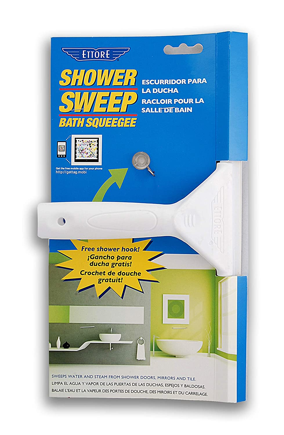 3. Ettore Shower Sweep Squeegee