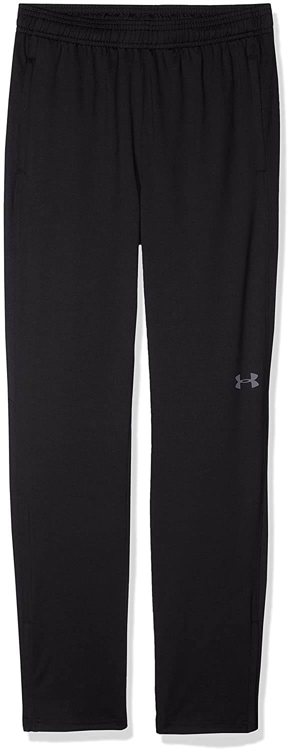 Under Armour Boys 'チャレンジャーIIトレーニングパンツ B0728BNRJ9 Youth Small|Black (001)/Graphite Black (001)/Graphite Youth Small