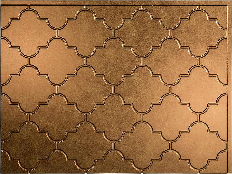- Fasade Easy Installation Monaco Antique Bronze Backsplash Panel