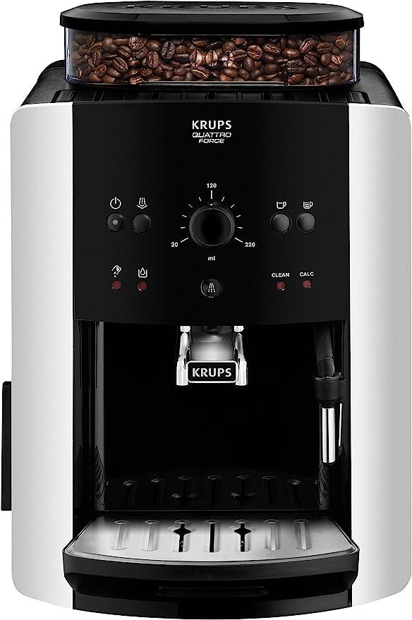 Krups EA8118 Independiente 1.6L Negro - Cafetera (Independiente, 1 ...