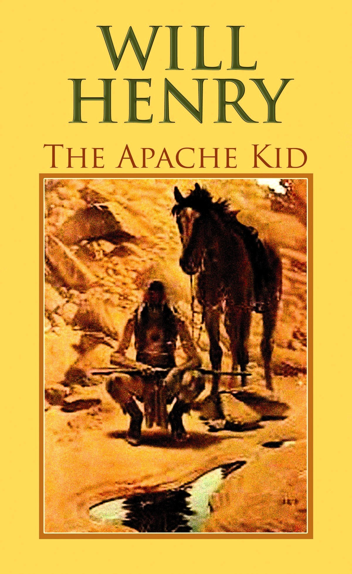The Apache Kid (Center Point Premier Western (Large Print)) ebook