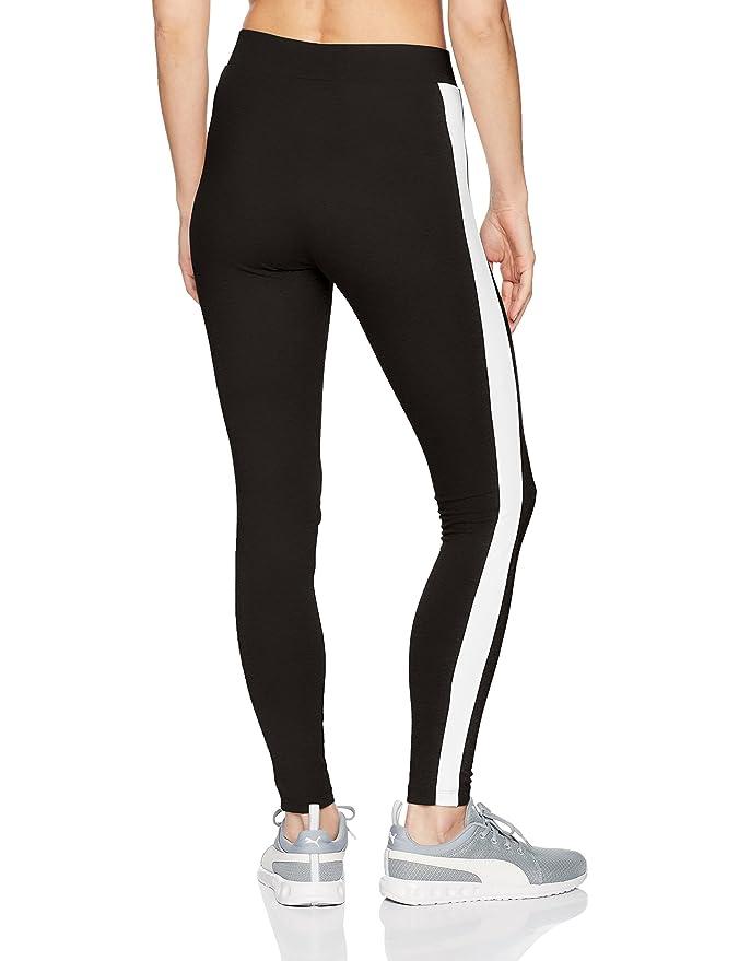 0cdc0eceb93e97 PUMA Women's Classics Logo T7 Leggings at Amazon Women's Clothing store:
