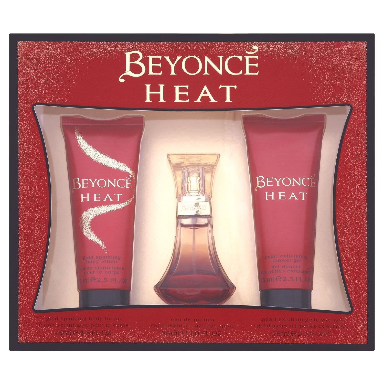 Beyonce Gift Set includes Heat Eau de Perfume 30ml/ Shower Gel 75ml/ Body Lotion 75ml Coty Beauty 16551