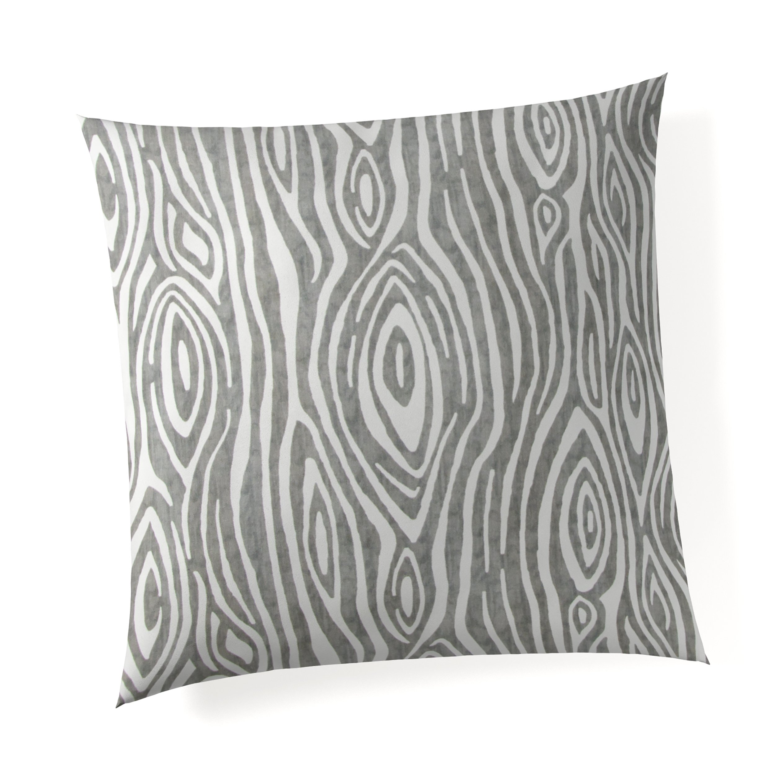 Glenna Jean Tree Trunk 18''x 18'' Pillow with Fill for Baby Nursery, Decorative Soft Cushion Square