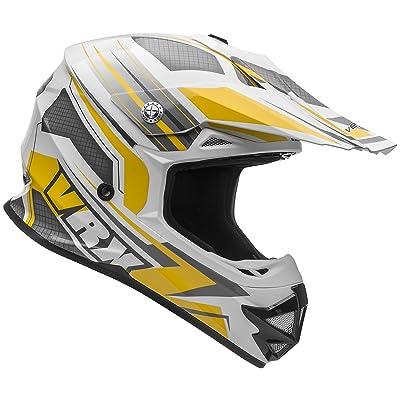 Vega Helmets VRX Advanced Off Road Motocross Dirt Bike Helmet (Yellow Venom Graphic, XX-Large): Automotive