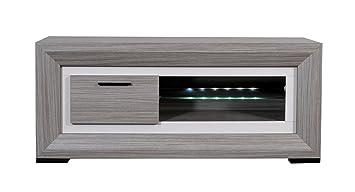 Sciae 11SD3310 lYNEA 83 meuble tV bas avec 1 porte à ...