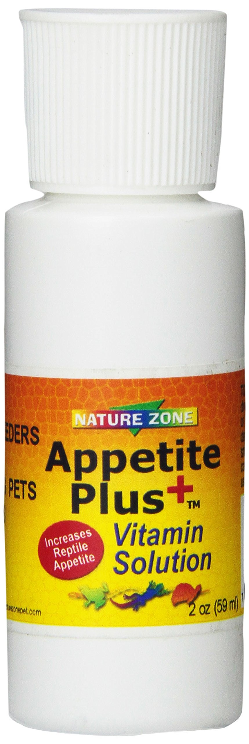 Nature Zone SNZ59231 Appetite Plus Reptile Concentrated Solution, 2-Ounce