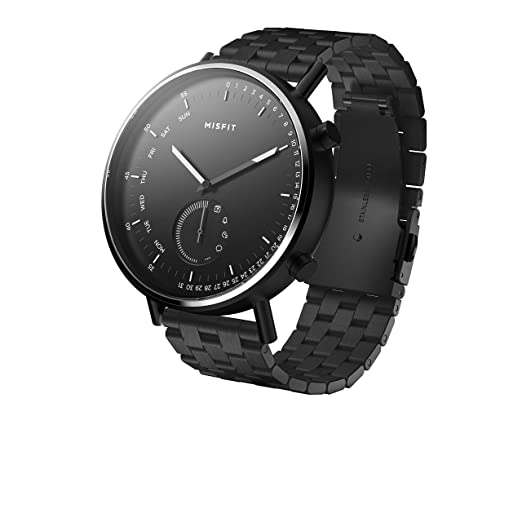Amazon.com: Misfit Command Stainless Steel Hybrid Smartwatch ...