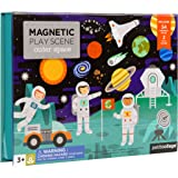 Petit Collage Magnetic Play Scene, Outer Space – Magnetic Game Board with Mix and Match Magnetic Pieces, Ideal for Ages 3+ –