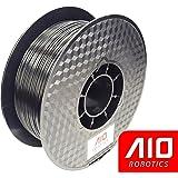 AIO Robotics Black PLA 3D Printer Filament, Dimensional Accuracy +/- 0.02 mm, 1.75 mm, 1.0 kg Spool